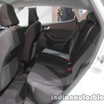 2018 Ford Fiesta Titanium rear seat at IAA 2017