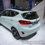 2018 Ford Fiesta Titanium rear three quarters at IAA 2017