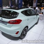 2018 Ford Fiesta Titanium rear three quarters right at IAA 2017