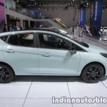 2018 Ford Fiesta Titanium side profile at IAA 2017