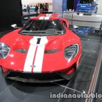 2018 Ford GT '67 Heritage Edition front at the IAA 2017