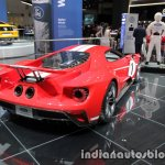 2018 Ford GT '67 Heritage Edition rear quarter at the IAA 2017