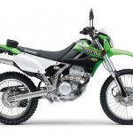 2018 Kawasaki KLX250 right side