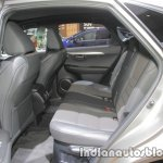 2018 Lexus NX 300 rear seat at IAA 2017