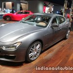 2018 Maserati Ghibli GranLusso front three quarter showcased at IAA 2017