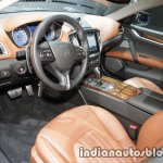 2018 Maserati Ghibli GranLusso interior showcased at IAA 2017