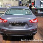 2018 Maserati Ghibli GranLusso rear showcased at IAA 2017