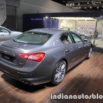2018 Maserati Ghibli GranLusso rear three quarter showcased at IAA 2017