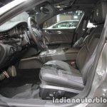 2018 Maserati Quattroporte front seats at IAA 2017