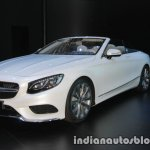 2018 Mercedes S-Class Cabriolet front three quarter at IAA 2017