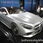 2018 Mercedes S-Class Coupe front three quarters left at IAA 2017