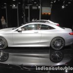 2018 Mercedes S-Class Coupe side at IAA 2017