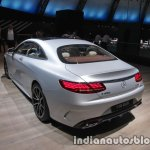 2018 Mercedes S450 4MATIC Coupe rear three quarters