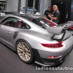 2018 Porsche 911 GT2 RS (991.2) rear three quarters at IAA 2017