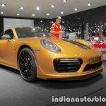2018 Porsche 911 Turbo S Exclusive Series bumper at the IAA 2017