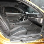 2018 Porsche 911 Turbo S Exclusive Series front cabin at the IAA 2017
