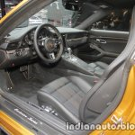 2018 Porsche 911 Turbo S Exclusive Series interior at the IAA 2017