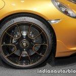 2018 Porsche 911 Turbo S Exclusive Series wheel at the IAA 2017