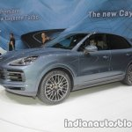 2018 Porsche Cayenne S at IAA 2017