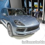 2018 Porsche Cayenne S front three quarters at IAA 2017