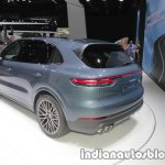 2018 Porsche Cayenne S rear three quarters at IAA 2017