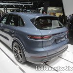 2018 Porsche Cayenne rear three quarters at IAA 2017