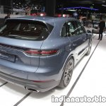 2018 Porsche Cayenne rear three quarters right at IAA 2017