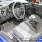 2018 Toyota Auris Hybrid dashboard at IAA 2017