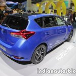 2018 Toyota Auris Hybrid rear three quarters right at IAA 2017