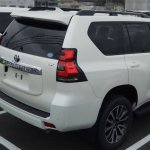 2018 Toyota Land Cruiser Prado TX (facelift) spy shot