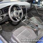 2018 VW Golf GTE interior at the IAA 2017