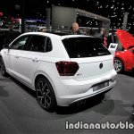 2018 VW Polo GTI rear three quarters at the IAA 2017