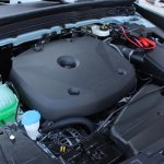 2018 Volvo XC40 blue engine