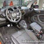 2018 smart fortwo cabrio dashboard at IAA 2017