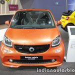 2018 smart fortwo cabrio front at IAA 2017