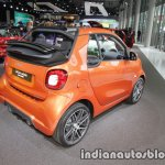 2018 smart fortwo cabrio rear three quarters at IAA 2017