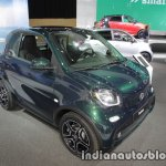 2018 smart fortwo front three quarters left at IAA 2017
