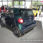2018 smart fortwo rear three quarters at IAA 2017