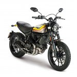Ducati Scrambler Mach 2.0 Studio shot front right quarter