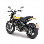 Ducati Scrambler Mach 2.0 Studio shot rear left quarter