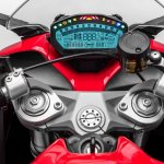 Ducati SuperSport studio instrument cluster