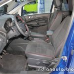 Ford EcoSport ST-Line front seats at IAA 2017