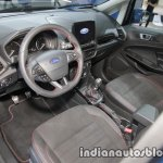 Ford EcoSport ST-Line interior at IAA 2017