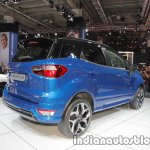 Ford EcoSport ST-Line rear three quarter at IAA 2017