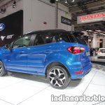 Ford EcoSport ST-Line rear three quarter left at IAA 2017