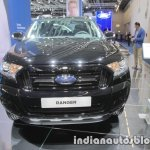 Ford Ranger Black Edition front at IAA 2017