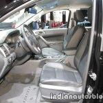 Ford Ranger Black Edition interior at IAA 2017