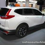 Honda CR-V Hybrid Prototype rear three quarters at IAA 2017