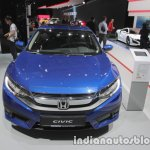 Honda Civic sedan front at IAA 2017