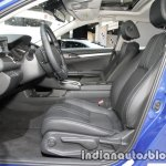 Honda Civic sedan front seats at IAA 2017
